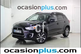 mitsubishi asx 2015 black used mitsubishi asx cars spain