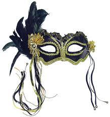 feather mask pink metallic side feather eyemask masquerade eye mask eye