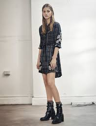 womens boots look allsaints s october lookbook look 6 sanko prairie silk