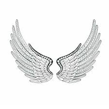 Wings Wall Decor Acrylic Angel Wings Wall Decor Set Of 2