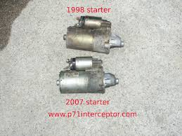 ford crown victoria p71 4 6l 3 bolt starter replacement