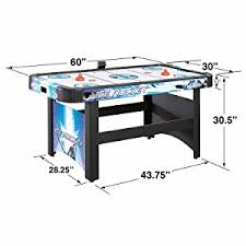harvil 5 foot air hockey table with electronic scoring amazon com hathaway face off 5 foot air hockey game table for