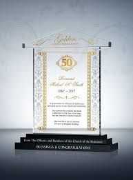 50th anniversary gifts traditional pastoral anniversary gift plaque 50th anniversary gifts