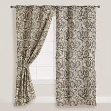 decorating enchanting grommet curtains with transom windows