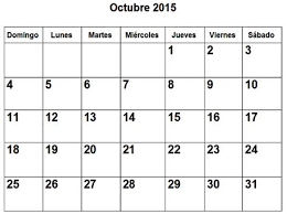 imagenes calendario octubre 2015 para imprimir collection of imagenes calendario octubre 2015 para imprimir