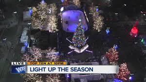 detroit lights up for the season youtube