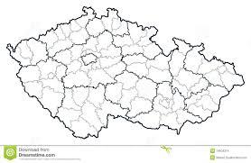Map Of Czech Republic Map Regions Czech Republic