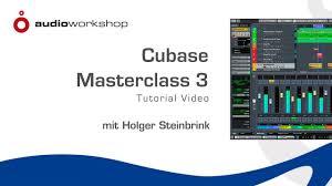 cubase masterclass 3 tutorial video trailer youtube