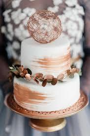 40 rose gold metallic wedding color ideas metallic wedding