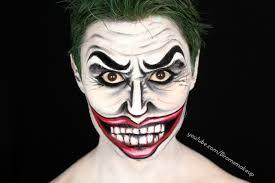 the joker comic style make up tutorial biromsmakeup youtube
