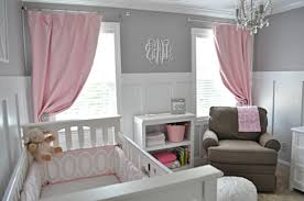 Curtains For Nursery by Pink Sheer Curtains For Nursery Best Curtains 2017 With Regard To