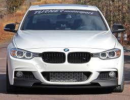 bmw f30 front spoiler 51192291364 f30 m performance front splitter for m sport