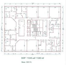 Floor Plans For Units 300p 11249 Sq Ft Education Space For Lease In Southfield Mi