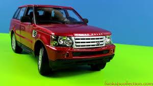 burgundy range rover range rover sport metallic red die cast model 1 18 by maisto youtube