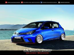 modified toyota 2015 toyota yaris modified by akdigitaldesigns on deviantart
