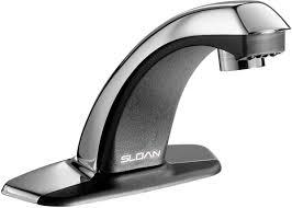 Motion Sensor Bathroom Faucet by Sloan Ebf 85 4 Bdt Bathroom Faucet Optima Plus Battery Powered