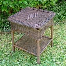 Outdoor Furniture Wicker Resin by Resin Patio Tables Foter