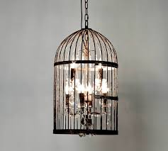 Glamorous Chandeliers Caged Chandelier Light Editonline Us