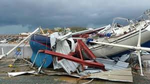 hurricane irma weakens to category 4 looting reported in st