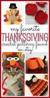 my favorite thanksgiving crochet patterns sugar bee crafts