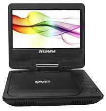 what format dvd player read amazon com sylvania portable dvd player sdvd7027 c 7 inch swivel