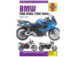 haynes manual f800 700 f650 twins 06 2016