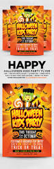 halloween kids party flyer psd by designblend graphicriver