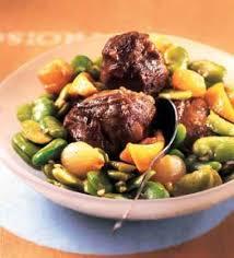 cuisine joue de porc recette joue de porc aux fèves 750g