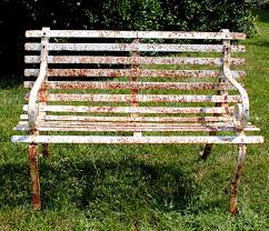Old Fashioned Metal Outdoor Chairs by How To Paint Rusty Iron Garden Furniture The Graphics Fairy