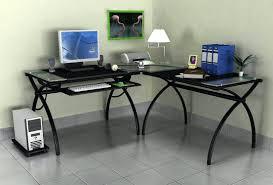 Espresso Corner Computer Desk by Computer Desk Glass Top U2013 Uvoke Co