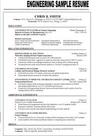 Sample Resume Objectives For Summer Job by Examples Of Resumes Resume Sample Headline Pertaining To Good
