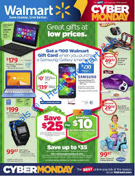 new walmart cyber monday ad with cyber week deals