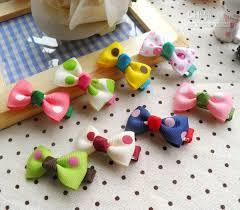 ribbon hair clip wholesale baby bouquet ribbon hair alligator bow