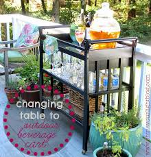 Gardening Table 10 Brilliant Ways To Repurpose A Changing Table