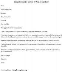 employment cover letter cover letter template musiccityspiritsandcocktail