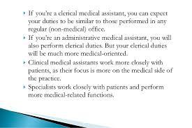 Medical Assistant Duties Resume Medical Assistant Job Dutie Medical Assistant Job Description