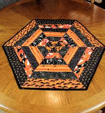 halloween quilt pattern awesome halloween table runners rectangular shape quilted table