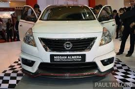 Nissan Almera Nismo Interior Nissan Almera Sunny Nismo Performance Package Launched In