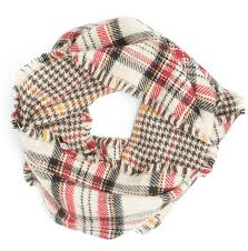 Extra Wide Table Runners Cream Houndstooth U0026 Plaid Reversible Oversized Table Runner Scarf Shaw
