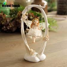 aliexpress com buy tabletop decoration resin craft swing