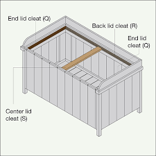Diy Toy Box With Lid by Build A Deck Box
