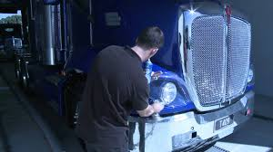 how to open kenworth t609 headlight covers youtube