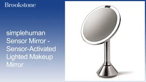 simplehuman sensor mirror sensor activated lighted makeup mirror