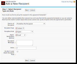 adobe sign for salesforce templates and data merge mapping