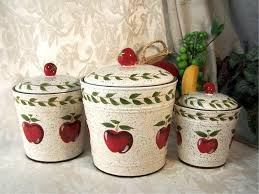 Red Kitchen Canisters Set by 100 Kitchen Canister Sets Vintage Red Kitchen Canisters In