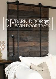 How To Make A Barn Door Track Sliding Barn Door Plans Diy Barn Door Barn Door Track And Barn