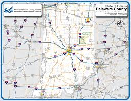 State Of Indiana Map by Muncie Delaware County Indiana Economic Development Alliance