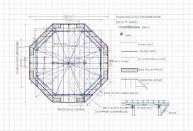 Plans To Build A Hexagon Picnic Table by Straw Bale House Plan 612 Sq Ft Round