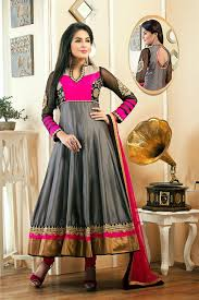 pink color combination different color anarkali dresses collection dressanarkali