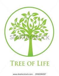 symbol tree stock vector 289006097